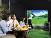 [千代田区麹町] シュミレーションゴルフ交流会!!寒い冬はゴルフは冬眠中というあなた!!あったか~い所でワイワイとゴルフしま...