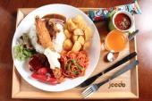 【女性主催】姫たちのカフェ会(赤坂駅) 大人の夏休み、大人のための特別なお子様ランチ (懐かし洋食)