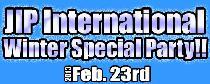 [港区六本木] 2/23 JIPインターナショナルパーティー(ウィンタースペシャル)!!
