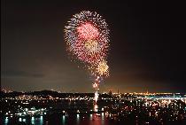 [江の島:片瀬海岸] 江の島花火大会を観に行こう♪~今夜は飲まNIGHT~