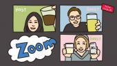 ZOOM飲み会!!女性主催〜こんな時代だからこそ、変化を!!新しい楽しみ方^^