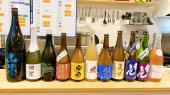 唐揚げとステーキと日本酒の会