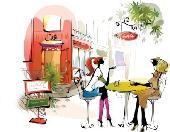 [渋谷] 【女性3名参加♪】『渋谷カフェ★コレ』ランチ会☆60分☆渋谷の地下に眠るおしゃれな空間☆1人で食べるより皆でごはん♪女性...