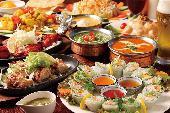 [亀戸] 都内人気アジア料理✨カレー10種以上♡満腹ディナー会♬女性参加費500円