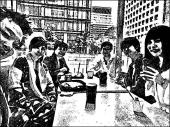 [新宿] ☆オシャレなハンバーガー屋で軽く一杯お酒でも飲みながらお話☆女性のあこさん主催☆女性は参加費無料でドリンク代のみ!!男性...