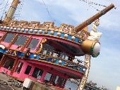 [竹芝] 【残席わずか】飲み放題‼‼ 海賊船! サンセット泡クルーザーパーティー♪ 特別割引あり♪