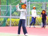 [狛江] *8/18*狛江で一緒にテニスしよう♪♪♡わきあいあいに楽しもう♪♪♡2面確保!!初・中級でコートを分けま