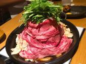 *1/25*♡恵比寿でお酒と料理の交流会・とろける「黒毛和牛鉄板鍋」の旨さ♪♪♡