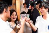 【肉寿司食べ放題】日本酒の季節到来!交流できる日本酒の利き酒イベント開催!