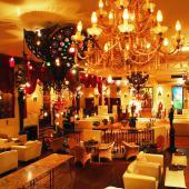 [新宿] 【ハイステイタス異業種飲み会!】ローストビーフと石窯ピザ♥おしゃれなカフェでChrismas Party♥